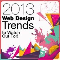 I trend del 2013 per la grafica e i layout nel web