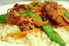 Paleo general Tso's chicken. Gluten, grain, soy free