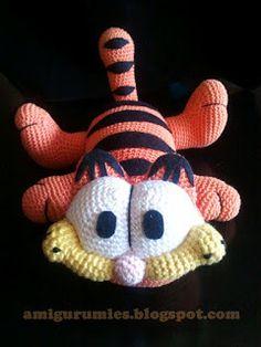 Garfield and Friends, Free Crochet Patterns - Crafty Tuts