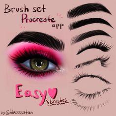 brush packs on procreate on ipad pro