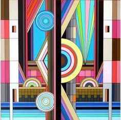 De abstracte kunst van Dalek