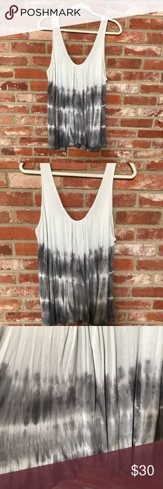 Free people oversized swing tank Free people oversized swing tank size XS Excellent pre owned condition  21 inches armpit to armpit  27 inches long  I accept reasonable offers Free People Tops Tank Tops
