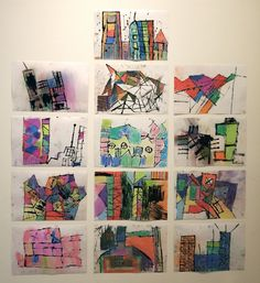 Kinder printmaking