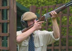 Ready, Aim, Fire! Are you a quick and steady shooter? Put your skills to the test while #ClayPigeonShooting at #AshfordCastle. #PULL #shooting #shotgun #aim