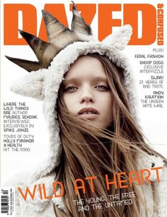 Abbey Lee Kershaw photographed by Daniel Jackson, styled by Karen Langley for Dazed&Confused December 2009