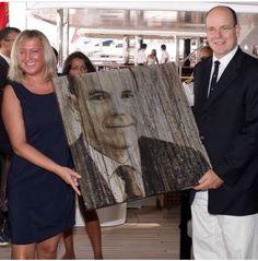 Clarissa Gobbetto Montecarlo - consegna premio Principe Alberto al Monaco Yacht Show