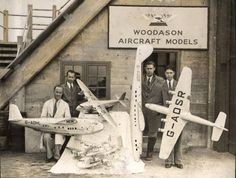"Note the ""shed"" in front of the hangar. Woodason's first shop location, when he worked for the Model Transport Company, was in some sort of a similar, minimal wood structure on the airport (described by some as a ""hut.""). As seen in the photo below (undated), the shop faced a ramp with an airplane evident. The exact location of this facility on the airport has not been determined."