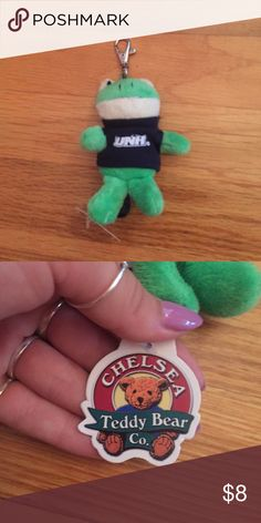 NWT UNH Keychain UNH Keychain- new- frog stuffed animal Other