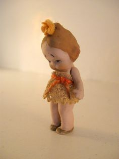 Miniature German Hertwig Girl Doll