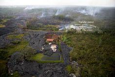 Foto: US Geological Survey Lava do vulcão Kilauea avança no Havaí e ameaça várias casas