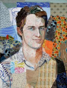 Kyle Abbott portrait 66 x 86 cm - Leslie Gabrielse