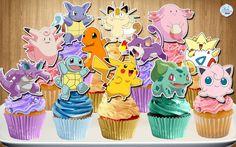 Pokemon Go Cupcake Toppers Pokemon Cupcake Toppers Pokemon Go Cupcake Picks Pokemon Cake Pop Topper Pokemon Go Cake Toppers Printable Pokemon Cake Pops, Pokemon Go Cakes, Pokemon Cupcakes Toppers, Cupcake Toppers, Pikachu Cake, Pokemon Pokemon, Pokemon Themed Party, Pokemon Birthday Cake, Birthday Cupcakes
