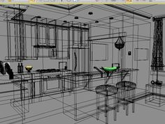 Image result for wireframe kitchen