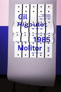 Gil Rigoulet  Molitor  1985—2015  www.the-m.fr  Design©les Graphiquants 2014  unquoted sheets