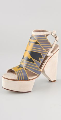 Art Deco inspired platforms by Surface to Air