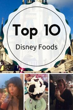 Disney World on your to-do list? These are some of the amazing Disney foods you do NOT want to miss!!