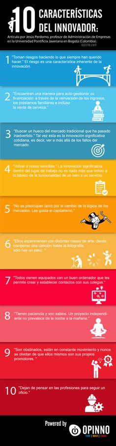 10 características del innovador