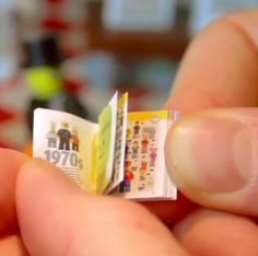 LEGO Creates A Mini Book For Its Toy Figurines - Titled 'LEGO Minifigure Year by Year: A Visual History'