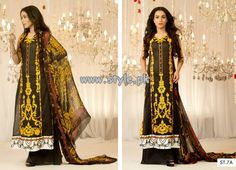 Ali Xeeshan Eid Collection 2013 by Shariq Textiles 002