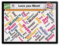 Happy Mother's Day from Word Mess!