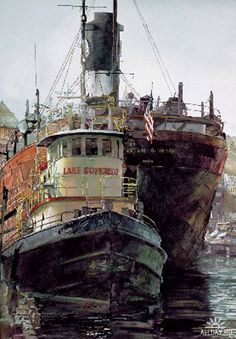 Lake Superior by John Salminen
