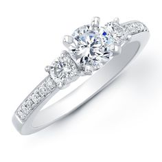 engagement ring. THIS LOOKS JUST LIKE MINE!!!!  I know I'm biased, but mine is definitely the most gorgeous one I've ever seen. <3
