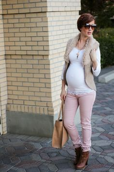 Maternity Style // Fall Earth Tones and a Giveaway