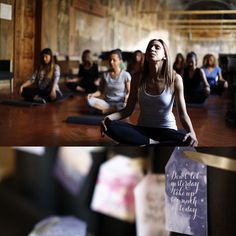 BREATHE... #goodmorning #elisamoccieventsacademy #yogasession @morlottistudio @morlottistudionapoli