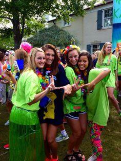 Ole Miss Kappa Kappa Gamma Bid Day 2013