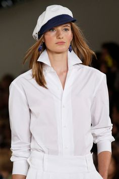 Ralph Lauren Spring 2016 Ready-to-Wear collection, runway looks, beauty, models, and reviews. Ralph Lauren Looks, Ralph Lauren Style, Spring Summer 2016, Spring Summer Fashion, Fall 2015, Classy And Fabulous, Designer Collection, Yorkie, Fashion Show