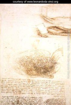Studies Of Water - Leonardo Da Vinci - www.leonardoda-vinci.org