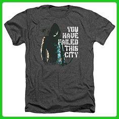 Arrow CW Superhero TV Series You Have Failed This City Adult Heather T-Shirt Tee - Superheroes shirts (*Amazon Partner-Link)