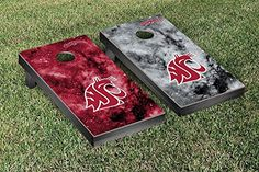 Washington State Cougars Cornhole Game Set Galaxy Version >>> Learn more by visiting the image link.