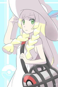 Lillie . [Pokemon Sun & Moon]