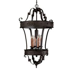 Home Improvement Chandeliers  Capital Lighting 9353RI Foyer with Clear Glass Shades Rustic Iron Finish ** Details on product can be viewed by clicking the image