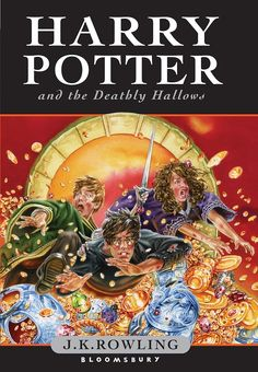 Harry Potter and the Deathly Hallows -- J.K. Rowling's classic books are getting a new look thanks to incredible artist Jonny Duddle. - Covers are worldwide, save North America, where the Harry Potter books are published by Scholastic.