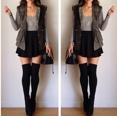 Fall outfit. hmm cute but would I have the bleep to wear in public. might be over dressed for the tri cities