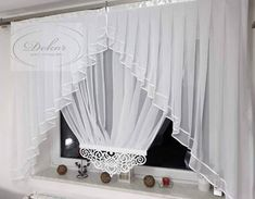 Diy Curtains, Kitchen Curtains, Kitchen Curtain Designs, Ely, Decoration, Window Treatments, Blinds, Salons, Kids Room