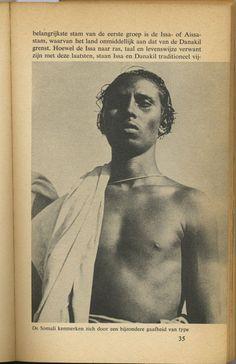 De Somali kenmerken zich door een bijzondere gaafheid van type. Zwart Afrika - Black Africa, the Netherlands, 1959