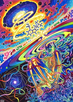 Spiral Out by CallieFink on DeviantArt Retro Game, Trippy Pictures, Art Visionnaire, Retro Kunst, Psychadelic Art, Psychedelic Drawings, Trippy Painting, Trippy Wallpaper, Stoner Art