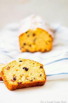 A simple pound cake laced with boozy raisins makes the best tea time treat!