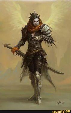 Outfit von der rechten Hand des Dunklen Königs