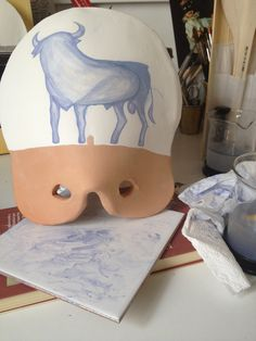 Pintando con D28 oxido metálico con fundente