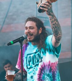 Post Malone #posty #PostMalone #AustinPost #postmalone #austinpost #rockstar #singer Post Malone Lyrics, Love Post, Trap, Cultura Pop, Celebs, Celebrities, Future Husband, Music Artists, My Idol