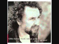 """Gilles Servat :"""" Vieille ville de merde""""( """"Dirty old town"""" des Pogues)"""
