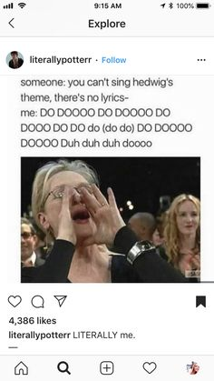 I can sing it😂😂<< Hedwigs theme is my mother notification sound. Harry Potter Jokes, Harry Potter Fandom, Harry Potter World, Must Be A Weasley, Yer A Wizard Harry, Hogwarts, Slytherin, Harry Potter Universal, Mischief Managed