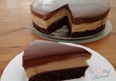 Kafíčkový dort s ořechovým těstem Tiramisu, Breakfast Recipes, Cake Decorating, Cheesecake, Deserts, Food And Drink, Cooking Recipes, Pudding, Sweets