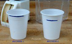 Le misure del Bicchiere | Quanto pesa un bicchiere di farina? E di olio? E di zucchero? E ...
