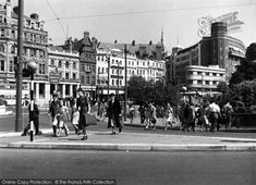 Bournemouth, The Square c.1955, from Francis Frith