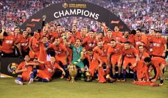 Alexis and Chile: Copa America Centenario champions Copa Centenario, Copa America Centenario, Fifa, Hot Stories, News Around The World, European Championships, Soccer World, World Cup, Sports News